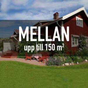 Mellan - Upp till 150 m²